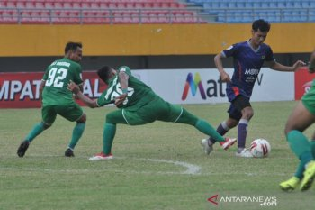 Kalahkan PSMS , Persita lolos ke semifinal Liga 2