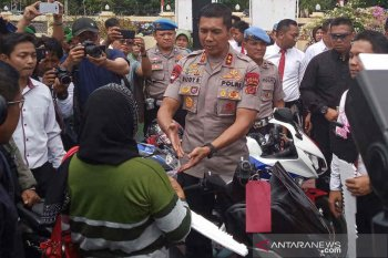 24 pencuri kendaraan bermotor antarprovinsi dibekuk Polres Indramayu