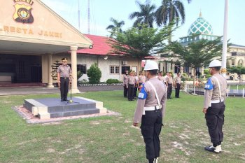Polresta Jambi pecat dua anggota yang terlibat narkoba
