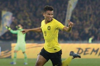 Tim bola Indonesia bertekuk lutut 0-2 oleh Malaysia