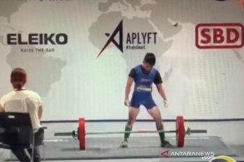 Widari raih juara dunia angkat berat
