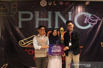 """Tiga mahasiswa IPB rancang aplikasi """"Gizind"""" solusi turunkan stunting"""