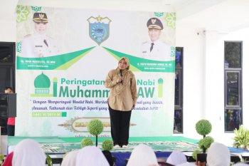 Bupati Irna : Berkat Rosulullah SAW drajat wanita terangkat