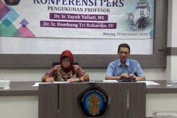 UB Malang kukuhkan dua profesor pertanian sekaligus