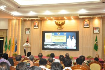 Gubermur Banten Wahidin Halim serahkan DIPA Tahun Anggaran 2020