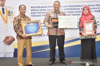 Tim kerja sama Pemkab Bogor raih peringkat terbaik se-Jawa Barat