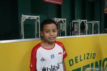 Hilman, bocah audisi PB Djarum yang bertekad menjadi atlet pelatnas