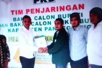 Putra JB, Nabil Jayabaya daftar sebagai balonbup ke PKB Pandeglang