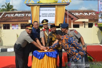 Polda Lampung resmikan Polres Tubaba