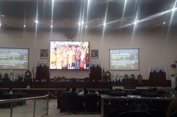 Pemprov Banten serahkan Nota Raperda penyertaan modal BUMD Agrobisnis