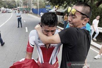 Indonesia sementara aman di posisi tiga perolehan medali