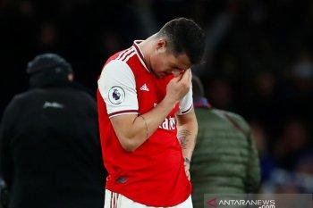 Liga Inggris - Arsenal tumbang 1-2 di tangan tamunya Brighton