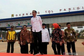 Presiden resmikan Jalan Tol Kunciran-Serpong