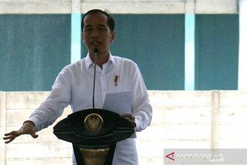 Presiden saksikan para menteri pentas antikorupsi di SMKN 57 Jakarta