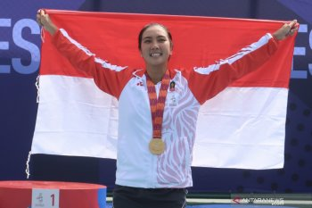 Petenis Indonesia Aldila: ganda campuran harus agresif demi emas SEA Games