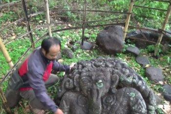 """Warga temukan arca """"Ganesha"""" di kebun bambu"""