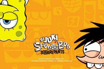 """""""Si Juki"""" ciptaan  Faza Meonk akan kolaborasi dengan Spongebob"""