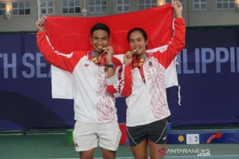 Christo nilai petenis putri Indonesia dominasi SEA Games