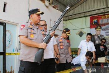 Kapolda Jatim sebut senjata ilegal di Lumajang dijual di daerah konflik