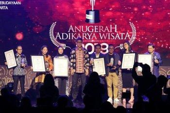 Di Jakarta, 31 pelaku industri pariwisata terima Anugerah Adikarya Wisata 2019