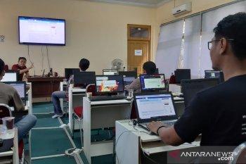 Sejumlah jurnalis ikuti pelatihan cek fakta AMSI Kalbar
