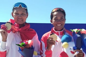 SEA Games 2019, Yayah dan Julianti raih emas rowing lightweight pair schuls