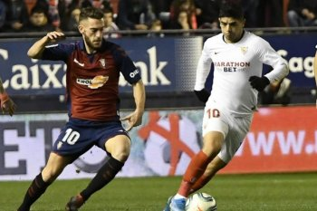 Liga Spanyol, diimbangi 10 pemain Osasuna, Sevilla kian tertinggal dari dua besar