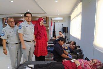 Sambut HUT ke-59, Jasa Raharja Banten adakan donor darah