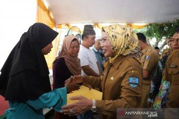 Pemkab Serang bantu pedagang Pasar Baros Rp549 juta