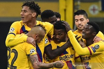 Tanpa Messi, Barcelona kubur mimpi Inter ke fase gugur