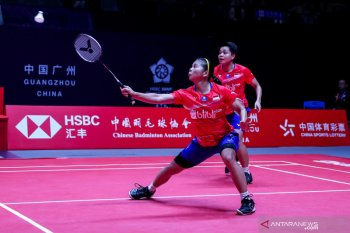 BWF Finals 2019: Kalah lagi, peluang Greysia/Apriyani tertutup