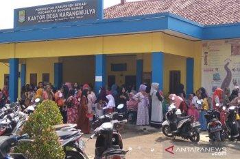 Pasar murah Bekasi digelar di desa rentan rawan pangan