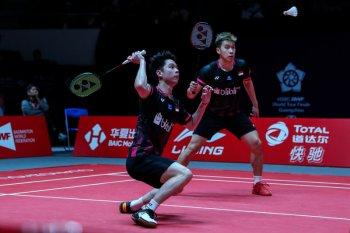 Kevin/Marcus jadi wakil ketiga Indonesia