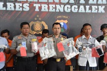 Polres tangkap jaringan pengedar narkoba di kawasan pesisir Trenggalek