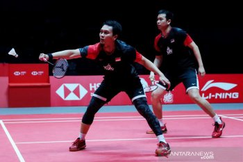 BWF Finals 2019, The Daddies wakili Indonesia rebut gelar juara