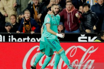 Liga Spanyol, Benzema selamatkan Real Madrid dari kekalahan