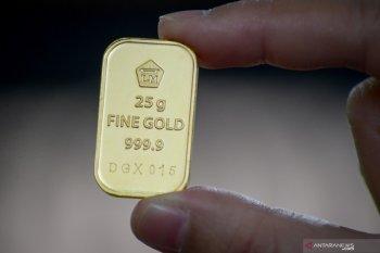 Harga emas Antam bertahan Rp779.000 per gram