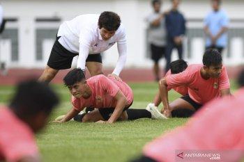 Shin Tae-Yong belum puas kondisi fisik pemain Timnas U-19