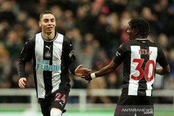 Newcastle lolos putaran keempat Piala FA usai kalahkan tim kasta ketiga
