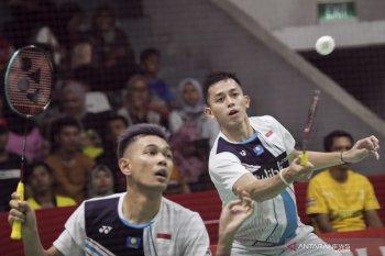 Fajar/Rian balas kekalahan atas Astrup/Rasmussen di Indonesia Masters 2020