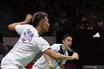 Indonesia pastikan satu wakil di final ganda putra Indonesia Masters