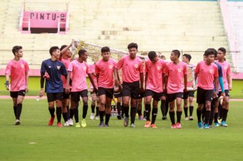 Timnas Indonesia U-16 mulai pemusatan latihan di Stadion Sidoarjo