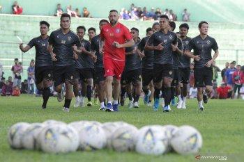 Latihan perdana Arema