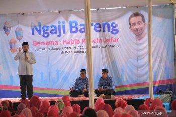 Arief  ajak warga sampaikan program jelang 27 tahun kota Tangerang