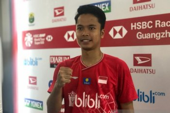 Anthony amankan tiket final tunggal putra