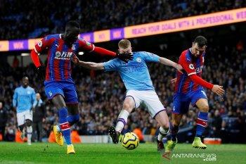 10 menit akhir pertandingan yang dramatis kala Man City imbang vs Palace