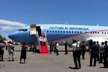 Presiden Jokowi tiba di Labuan Bajo