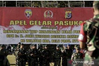 Presiden kunjungan kerja di Labuan Bajo, ratusan personel disiapkan amankan