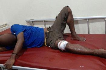 Polresta  Jayapura tembak kaki spesialis pencuri motor