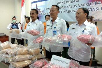 BNNP Bali sukses amankan 29 kg ganja jaringan Medan-Bali